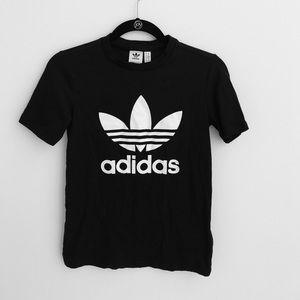 Never worn Adidas logo T-shirt size XS